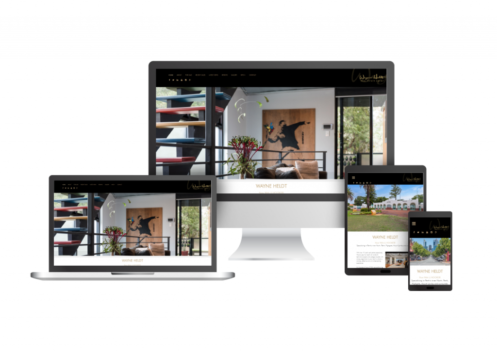 Individual agent website
