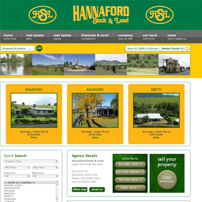 Hannaford Stock & Land