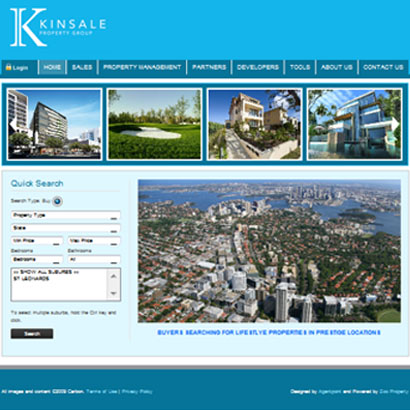 Project Development Website – Kinsale