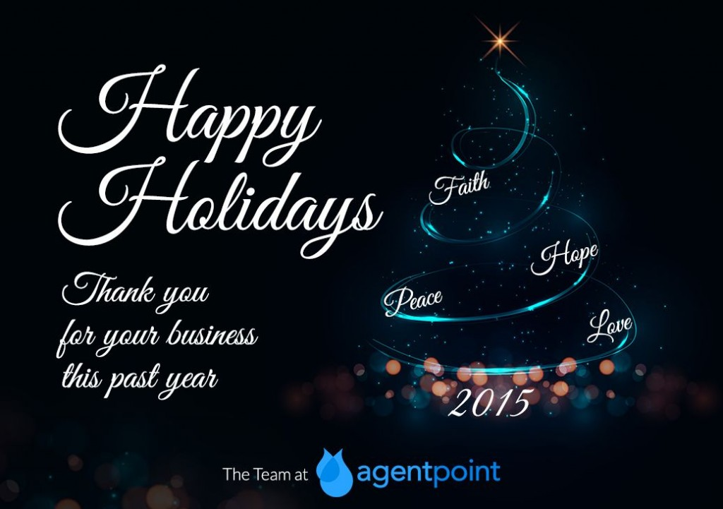 Happy holiday agentpoint